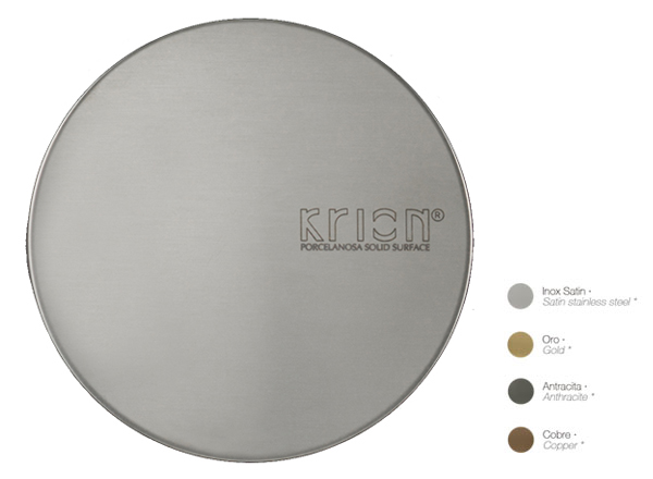 Akcesoria Solid Surface Drain Trim Cover
