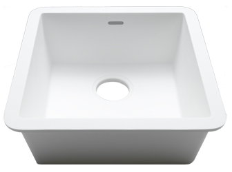 Porcelanosa BASIC Sinks Basic BC C604 40x40 E: Zlewozmywaki Solid Surface