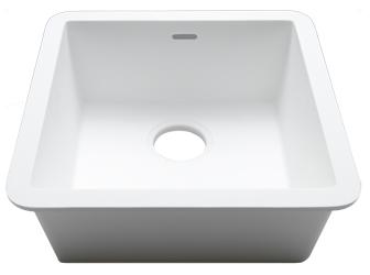 Porcelanosa BASIC Basic BC C604 40x40 E: Solid Surface Sinks