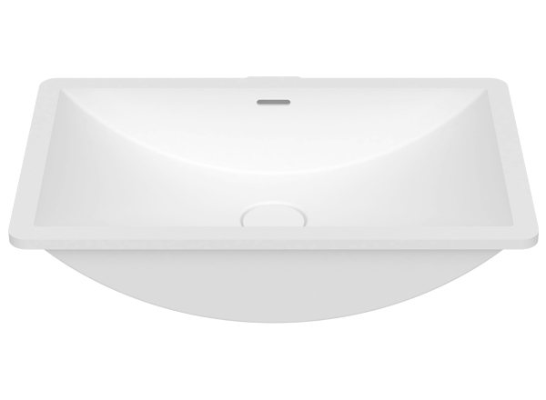 Solid Surface Washbasins B821 50x30 E