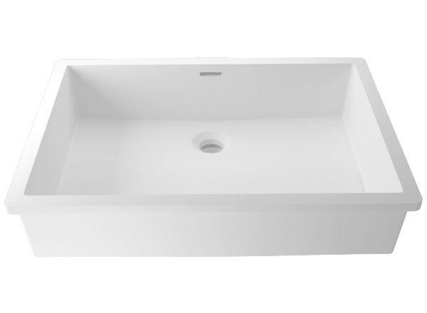 Solid Surface Washbasins Basic BC B820 50x35 E