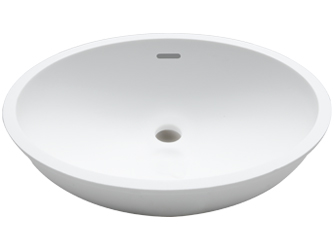Porcelanosa BASIC Basic B417 46x37: Solid Surface Washbasins