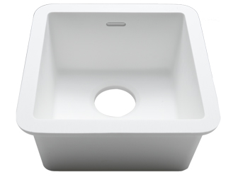 Porcelanosa BASIC Sinks Basic BC C605 30x30 E: Zlewozmywaki Solid Surface