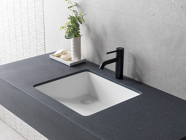 Umywalki Solid Surface Basic D803 - 40x35 cm