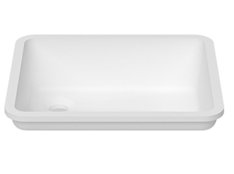 Porcelanosa BASIC Basic D803 - 40x35 cm: Umywalki Solid Surface