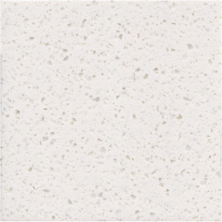 ROYAL + Series Crystal White +: Mineralwerkstoffplatten