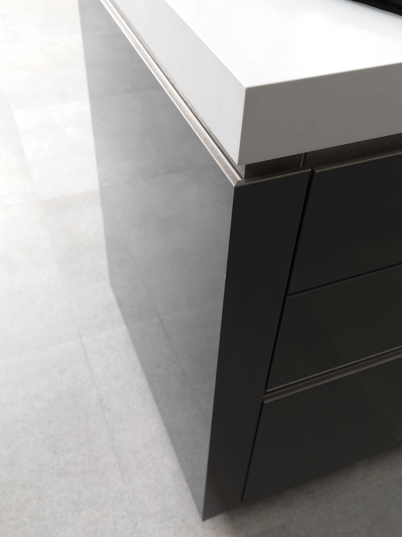 KRION Solid Surface Emotions PORCELANOSA Kitchens Gamadecor