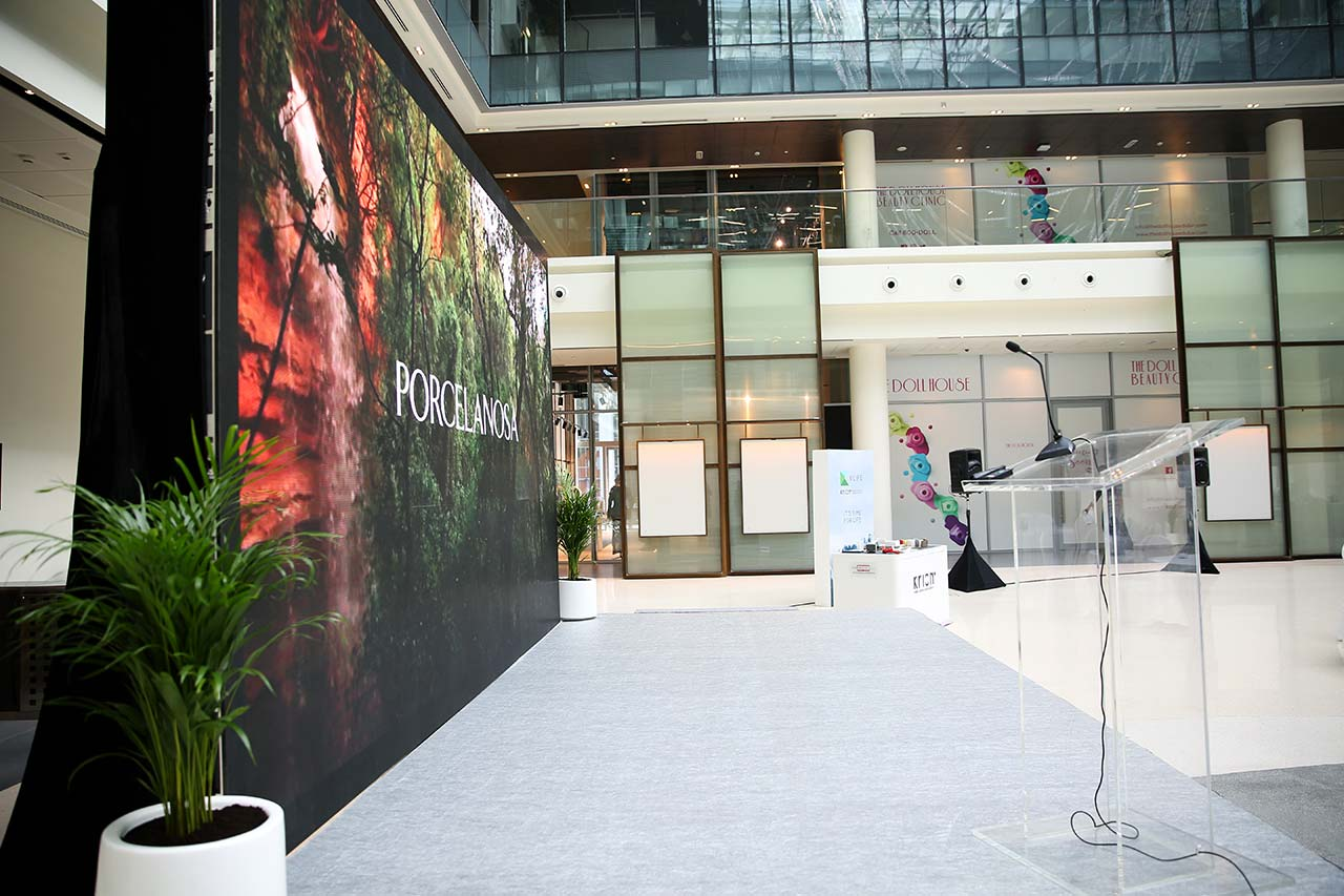 Dubai Design District Cloisall Presents Krion K Life Still Diagram Rectifying Plant For Purifying Apart From Discovering The Revolutionary Leap Obtained By In World Of Solid Surface Air Through Photocatalysis Attendees Enjoyed An
