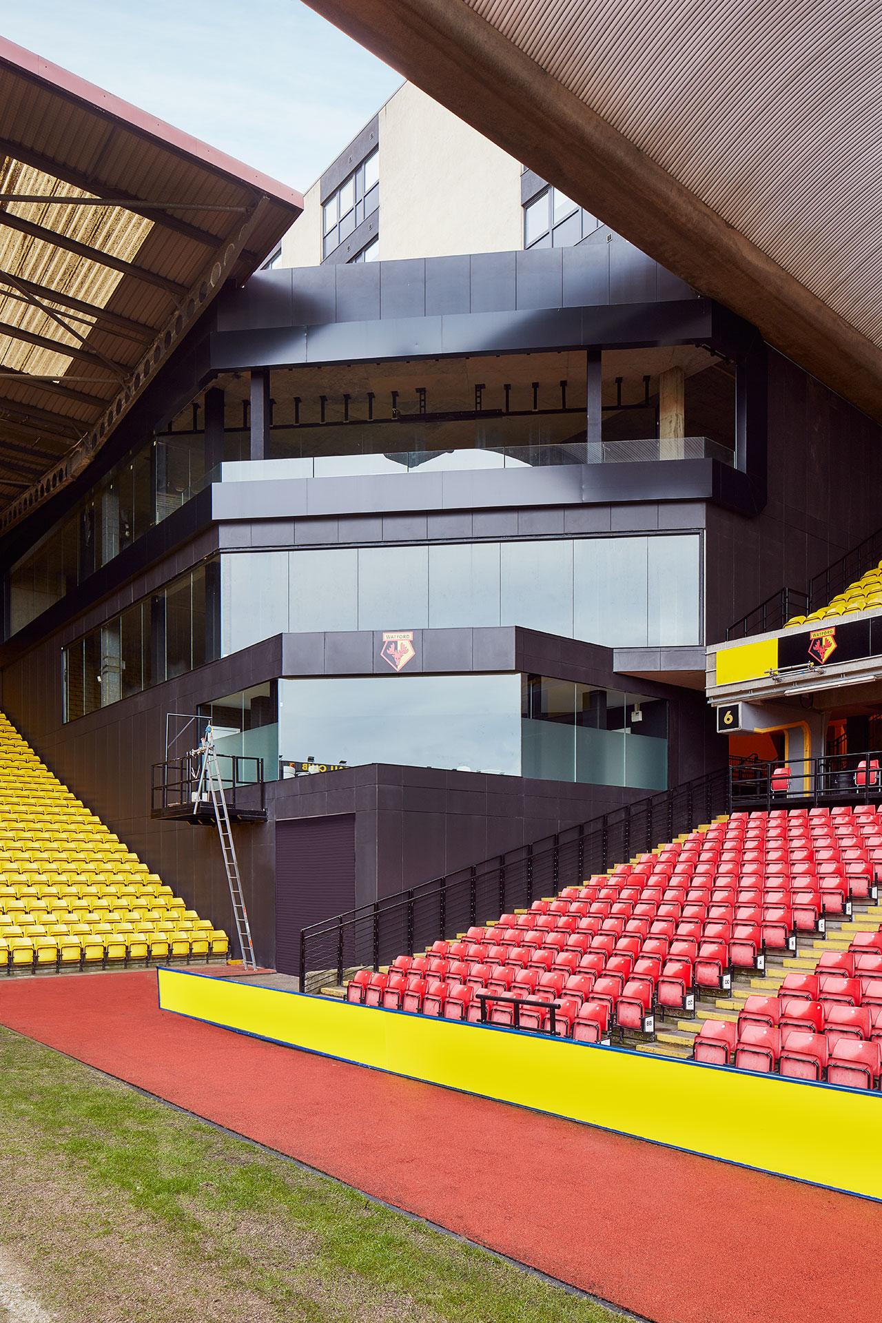 Krion 174 In The Premier League Watford Fc Stadium