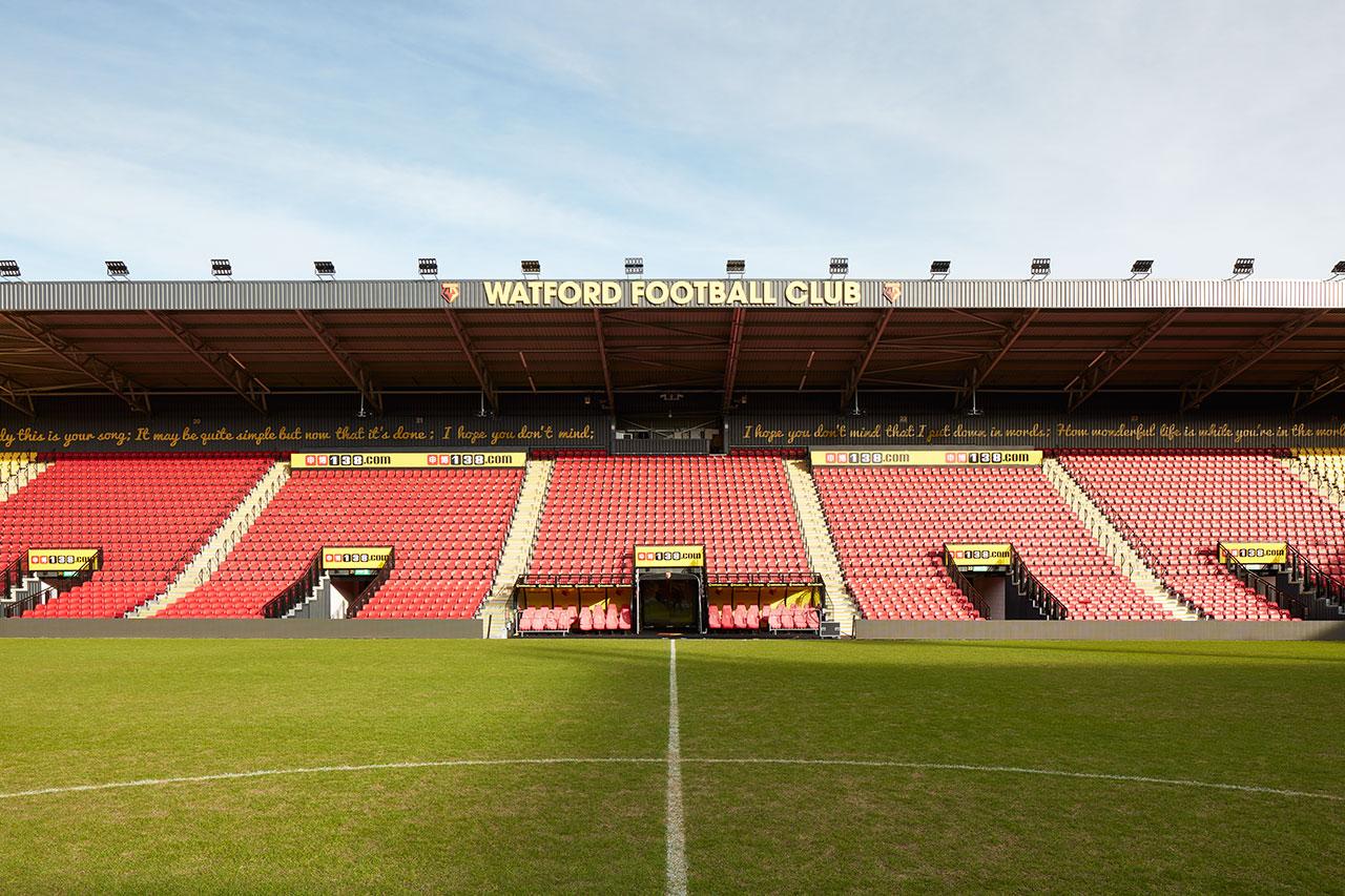 KRION® in the Premier League – Watford FC Stadium