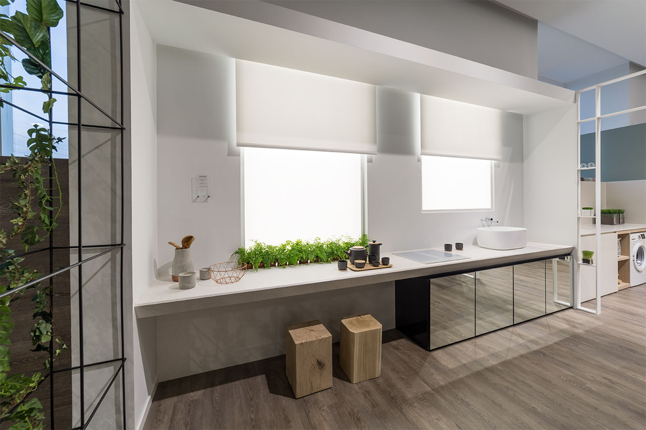 XXIV Mostra PORCELANOSA KRION SOLID SURFACE Hotel Home